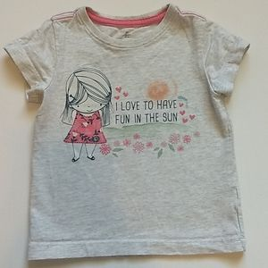 Roots Summer T-shirt * Size 2T